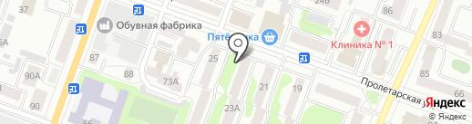 Строитель, ЖСК на карте Йошкар-Олы