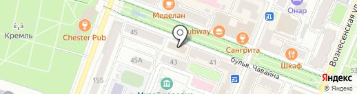 Миф на карте Йошкар-Олы