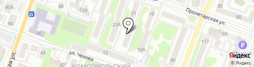 Клён, ТСЖ на карте Йошкар-Олы