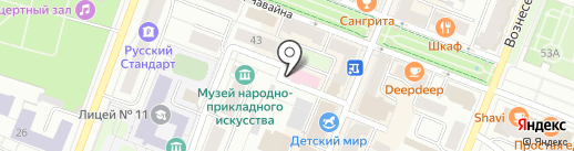 Стоматологическая поликлиника г. Йошкар-Олы на карте Йошкар-Олы