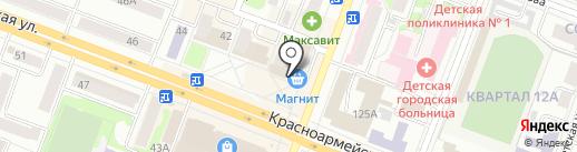 Медиасалон на карте Йошкар-Олы