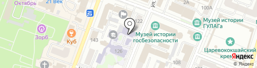 Обыкновенное чудо на карте Йошкар-Олы