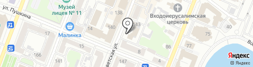 Эдельвейс на карте Йошкар-Олы