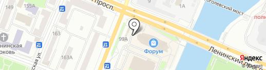 Мэрилин на карте Йошкар-Олы