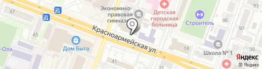 Нотариус Иванова И.Н. на карте Йошкар-Олы