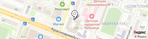 Диэнай Клуб на карте Йошкар-Олы