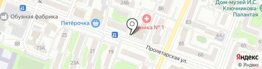 банк Открытие, ПАО на карте Йошкар-Олы