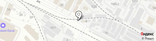 Хорс на карте Йошкар-Олы