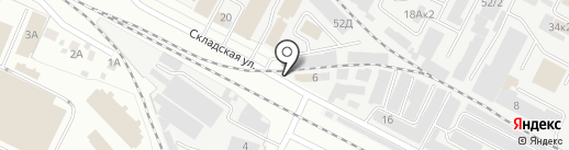 На Складской на карте Йошкар-Олы