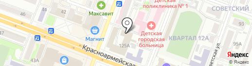 Витадар на карте Йошкар-Олы