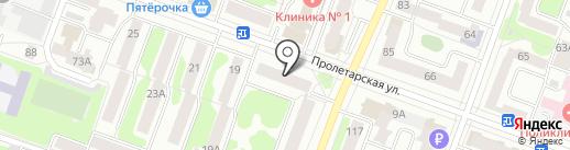 Сернурский сырзавод, ЗАО на карте Йошкар-Олы