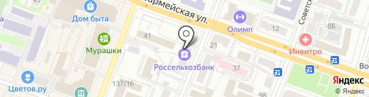 РоссельхозБанк на карте Йошкар-Олы