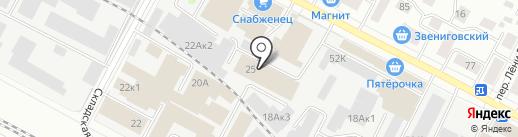 Центр Принт на карте Йошкар-Олы