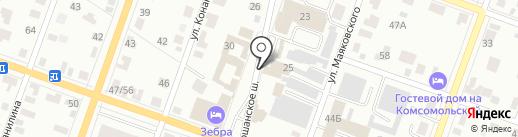 Магазин на карте Йошкар-Олы