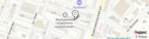 Плюшки ватрушки на карте Йошкар-Олы