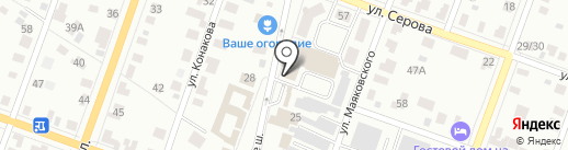 АвтоХостел на карте Йошкар-Олы