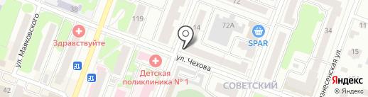 Многопрофильная компания на карте Йошкар-Олы