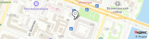 Единая Волна на карте Йошкар-Олы