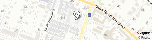 Общественная баня №5 на карте Йошкар-Олы