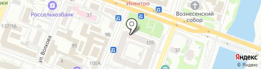 Prizma на карте Йошкар-Олы