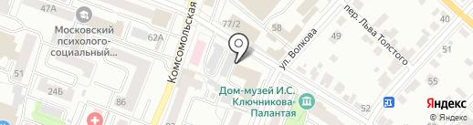 Гараж на карте Йошкар-Олы