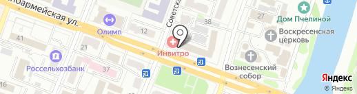 Магазин мебельной фурнитуры на карте Йошкар-Олы