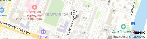 Exist.ru на карте Йошкар-Олы