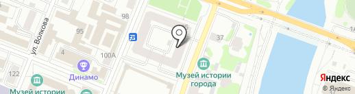 Denim bar на карте Йошкар-Олы