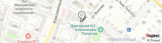 Хмель на карте Йошкар-Олы