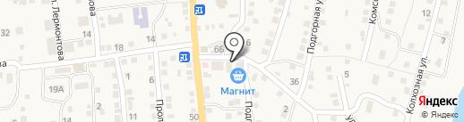 Уютный на карте Ильинки