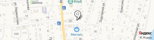 Селена на карте Ильинки