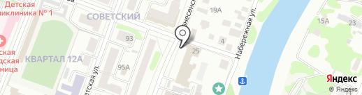 БОВИС на карте Йошкар-Олы