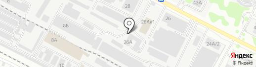 Юнити на карте Йошкар-Олы