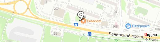 Пив Пав на карте Йошкар-Олы