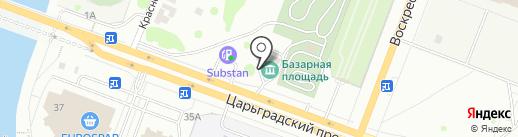 АвтоСтарт на карте Йошкар-Олы