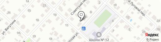 Компания по аренде спецтехники и продаже сыпучих строительных материалов на карте Йошкар-Олы