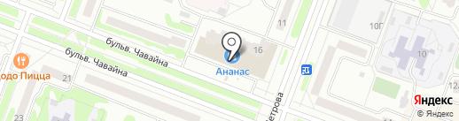 Совкомбанк, ПАО на карте Йошкар-Олы