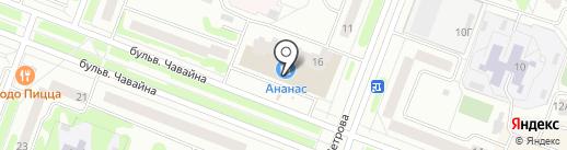 Банкомат, Совкомбанк, ПАО на карте Йошкар-Олы