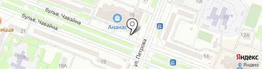 Билайн на карте Йошкар-Олы