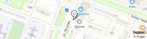 Букмекер паб на карте Йошкар-Олы
