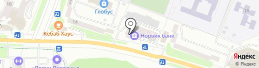 Норвик банк, ПАО на карте Йошкар-Олы