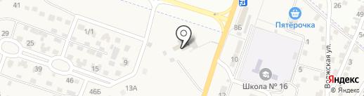Гостиничный комплекс на карте Ильинки