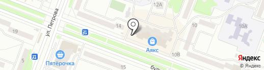 Поплавок на карте Йошкар-Олы