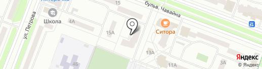 Массажный кабинет на карте Йошкар-Олы