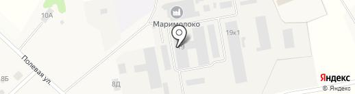 Измет на карте Сенькино