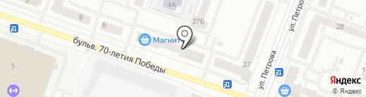 Мастер на карте Йошкар-Олы