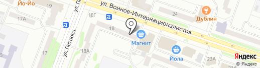 Центр детского и юношеского технического творчества на карте Йошкар-Олы