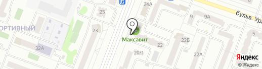Чистюля на карте Йошкар-Олы