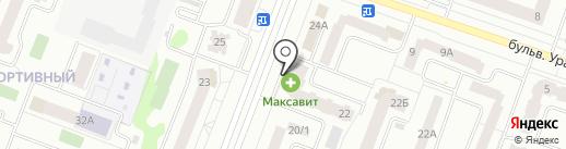 Русь на карте Йошкар-Олы