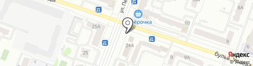 ЗдравСити на карте Йошкар-Олы